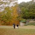 森林公園(チェリーちゃんとアンジー君)